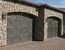 Decorative Iron Garage Door