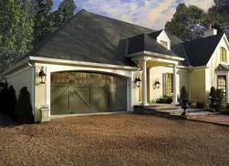 Precision garage doors of memphis new garage door for Composite wood garage doors